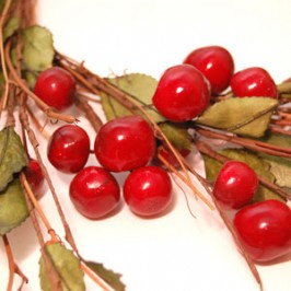 Cherry Spray Wreath (2)